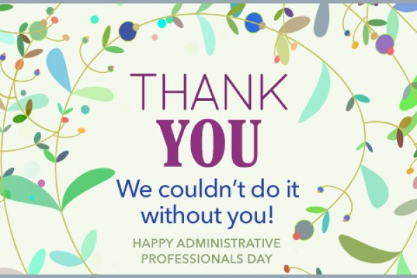 Administrative Professionals Week (APW)